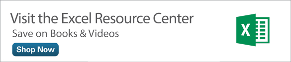 Excel Resource Center