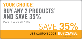Buy 2 Eligible Products and Save 35%