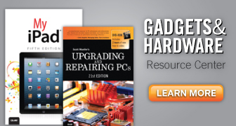Gadgets & Hardware Resource Center from Que Publishing