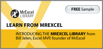 The MrExcel Library by Bill Jelen