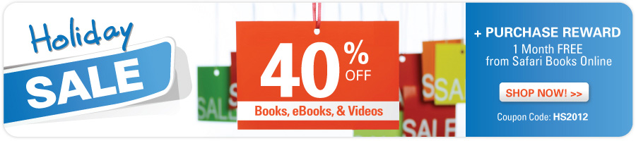 Holiday Sale from Que Publishing