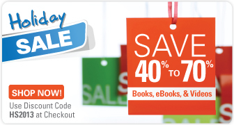 Save 40% on Books and eBooks, 40-70% on Video in the Holiday Sale from Que