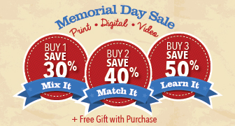 Memorial Day Sale from Que Publishing