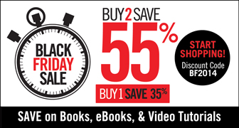 Black Friday Sale from Que Publishing