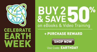 Buy 2 or more eligible eBooks or videos and save 50% with discount code EARTHDAY