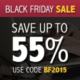 Save up to 55% in the Black Friday Sale from Que Publishing