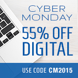 Save 55% in the Cyber Monday Sale from Que Publishing