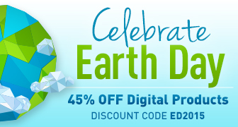 Save 45% on eBooks and Video Tutorials in the Earth Day Sale from Que