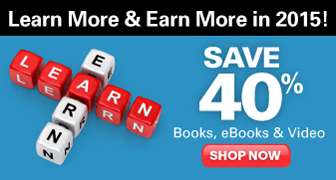 Save 40% on Books, eBooks, and Videos in the New Year's Sale from Que