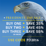 Save up to 55% in the Presidents' Day Sale from Que Publishing