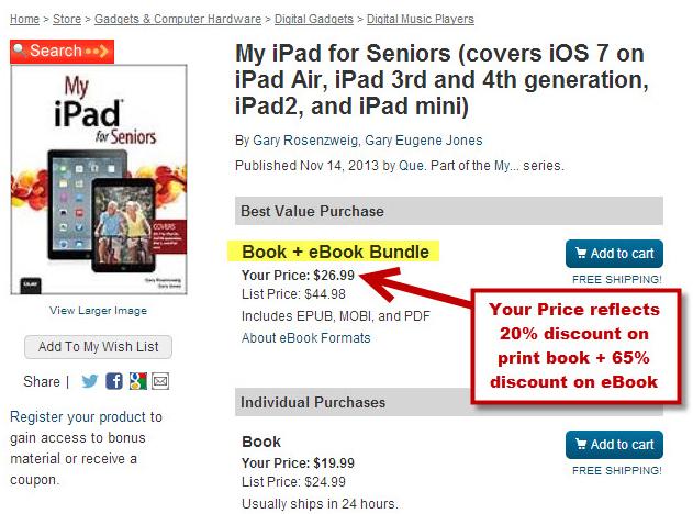 Best Value Book + eBook Bundle Example