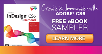 Adobe CS6 Titles from Que Publishing