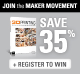 Save 35% on Maker Books, eBooks, and Videos