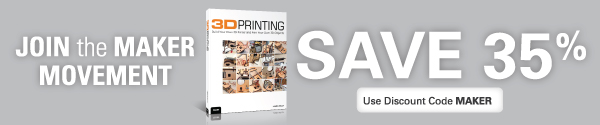Save 30% on Maker Books, eBooks, and Video from Que Publishing