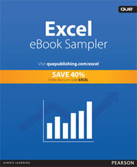 Click to Download Free Excel Sampler from Que Publishing