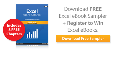 Try 8 Excel eBooks, Free!