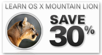 OS X Mountain Lion Titles from Que Publishing