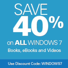 Save 40% on Windows 7 Titles from Que Publishing