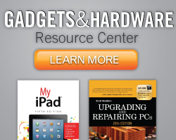 Gadgets and Hardware Resource Center from Que Publishing