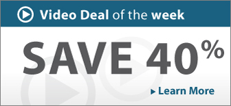 Video Deal of the Week: Save up to 50%