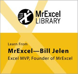MrExcel Library Series featuring MrExcel, Bill Jelen
