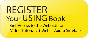 USING Series -- Register Your Book