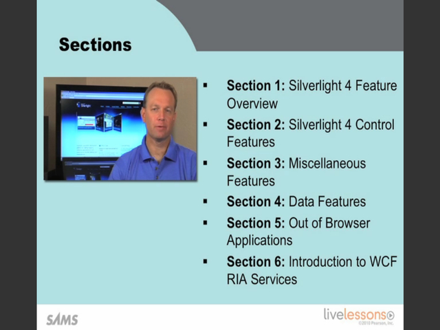Introduction to Silverlight 4 LiveLessons (Video Training), Downloadable Video