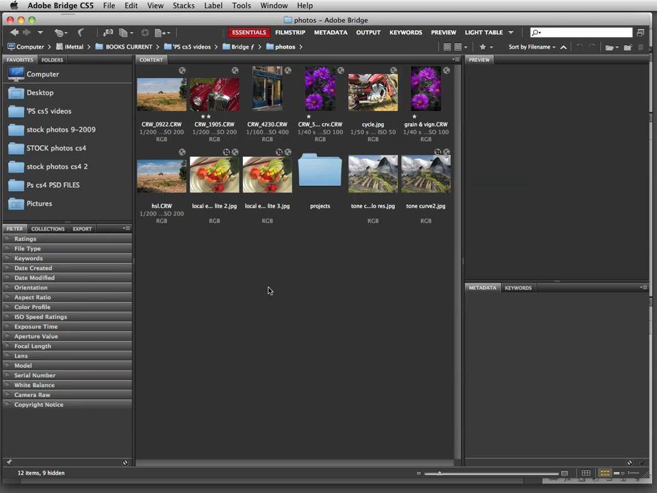 Photoshop CS5: Video QuickStart Guide, Online Video