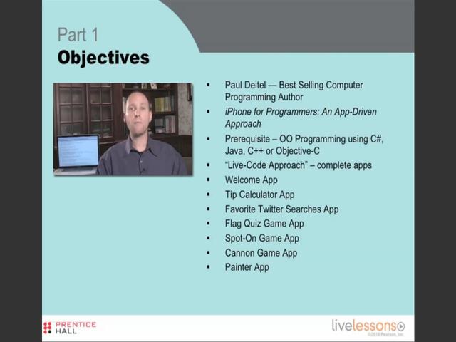 iPhone App Development Fundamentals LiveLesson Complete Downloadable Library, Downloadable Version