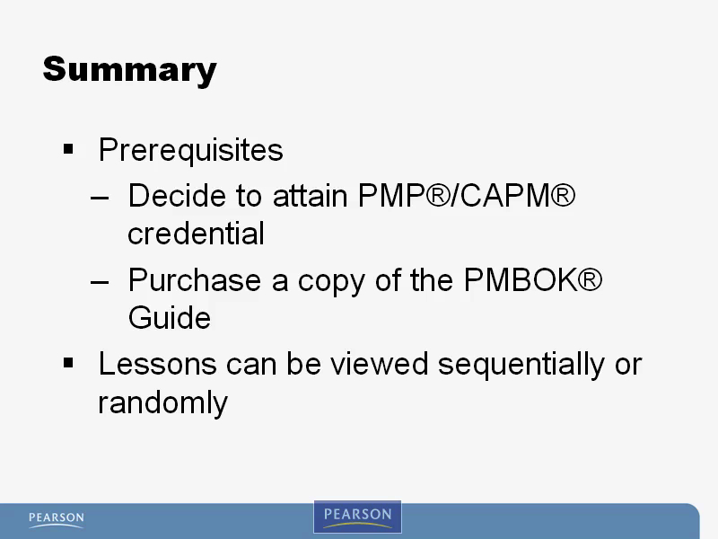 PMP (PMBOK4) Video Mentor, Downloadable Version