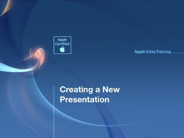 Apple Video Training: Keynote for iPad, Online Video