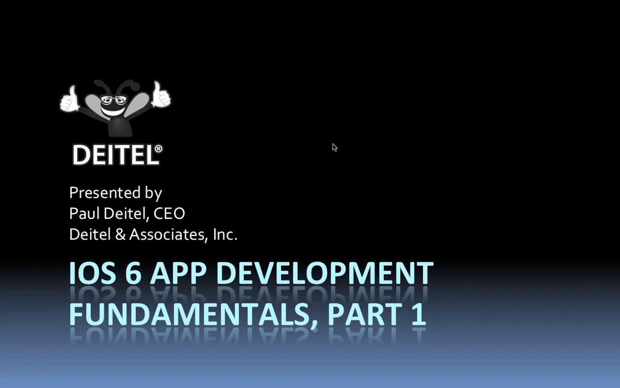 iOS 6 App Development Fundamentals LiveLessons Part I (Video Training), Download Version