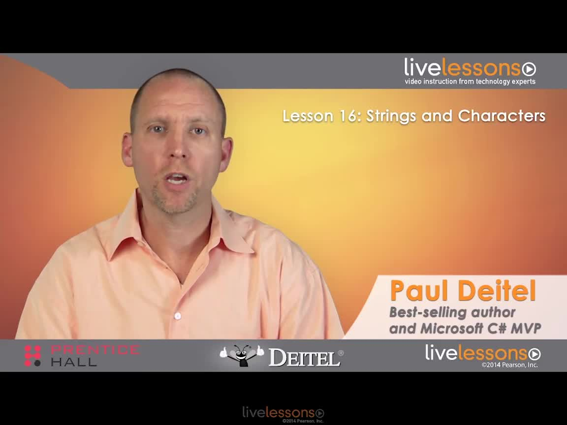 C# 2012 Fundamentals LiveLessons Part III of IV (Video Training)