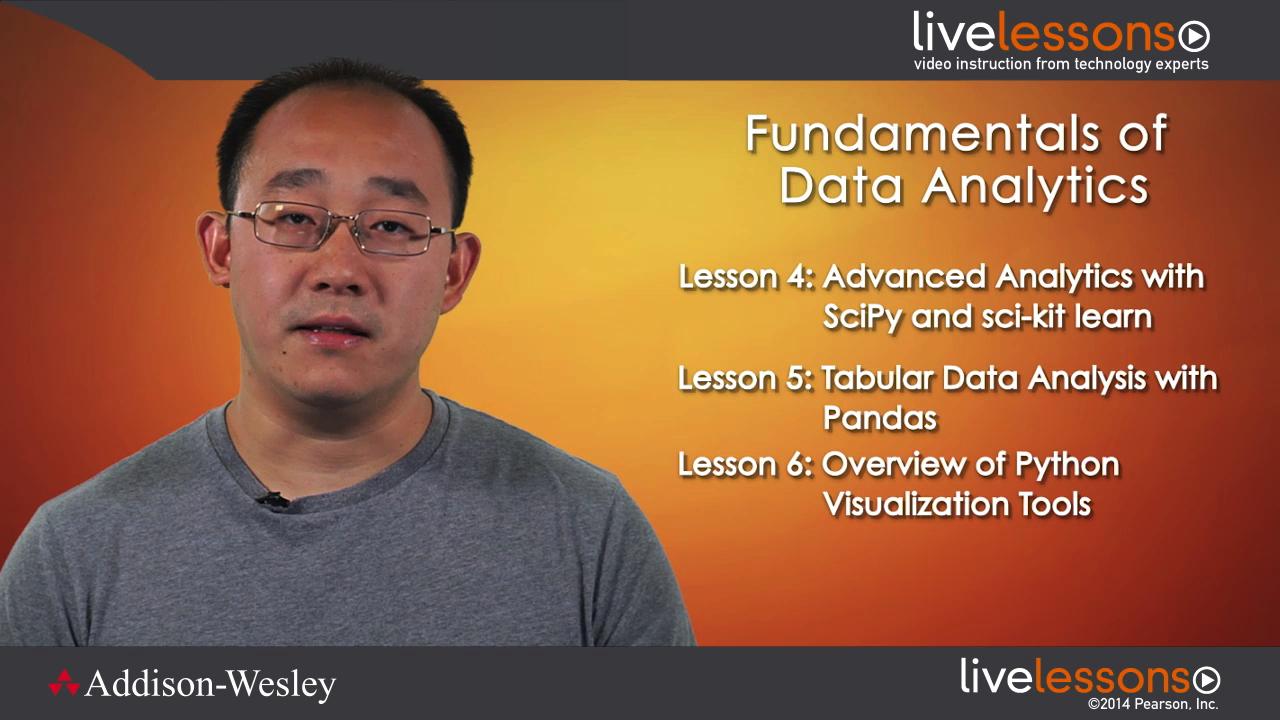 Fundamentals of Data Analytics in Python LiveLessons (Video Training)