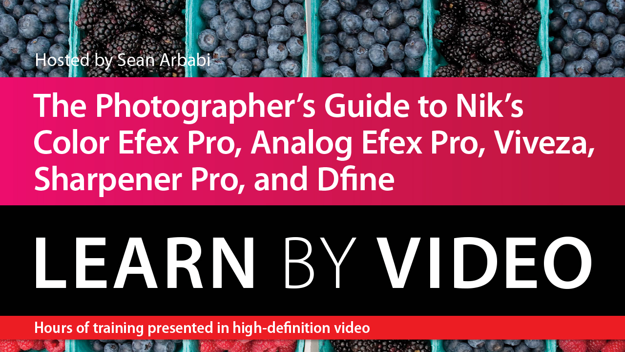Photographer's Guide to Color Efex Pro, Analog Efex Pro, Viveza, Sharpener Pro, and Dfine, The: Learn by Video