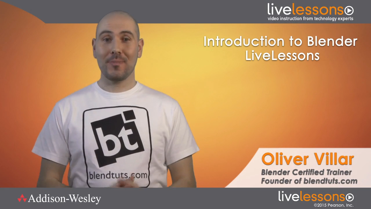 Introduction to Blender LiveLessons (Video Training)