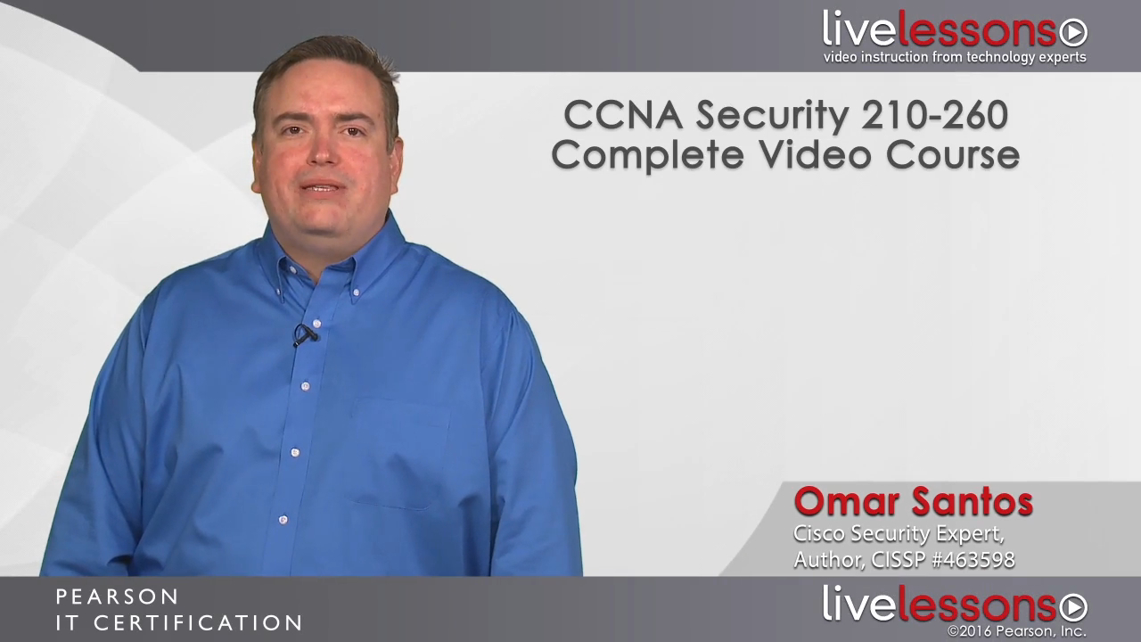 CCNA Security 210-260 Complete Video Course