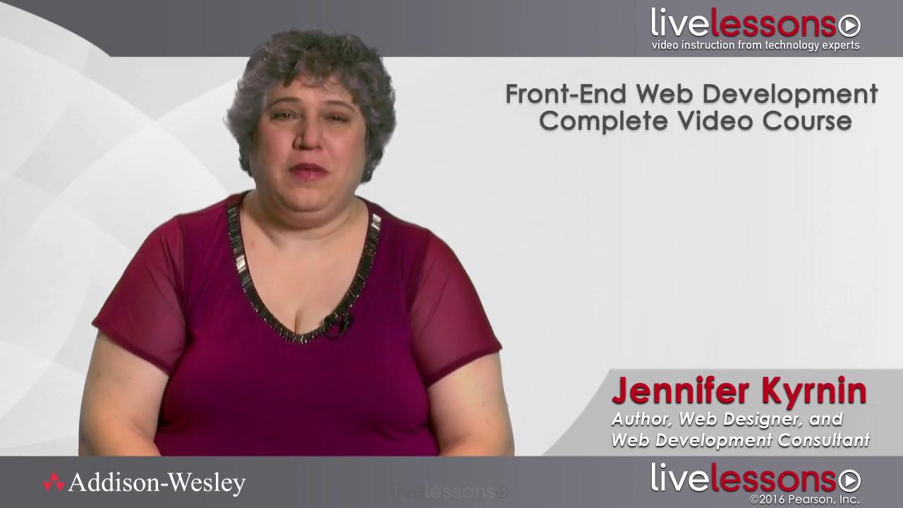 Front-End Web Development Complete Video Course