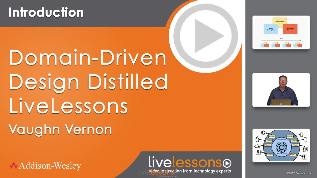 Domain-Driven Design LiveLessons (Video Training)