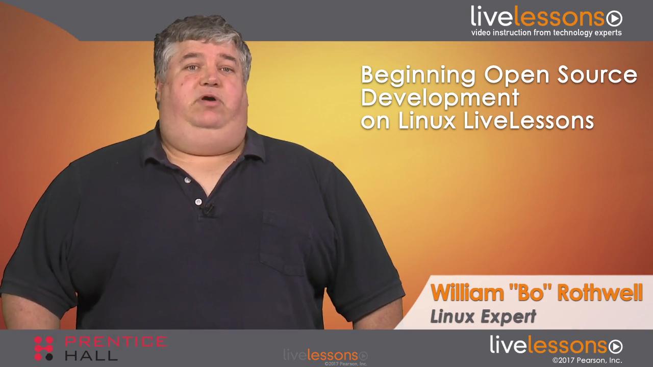 Beginning Open Source Development on Linux LiveLessons