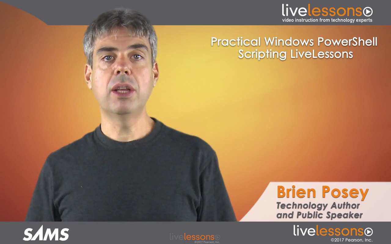 Practical Windows PowerShell Scripting LiveLessons (Video Training)