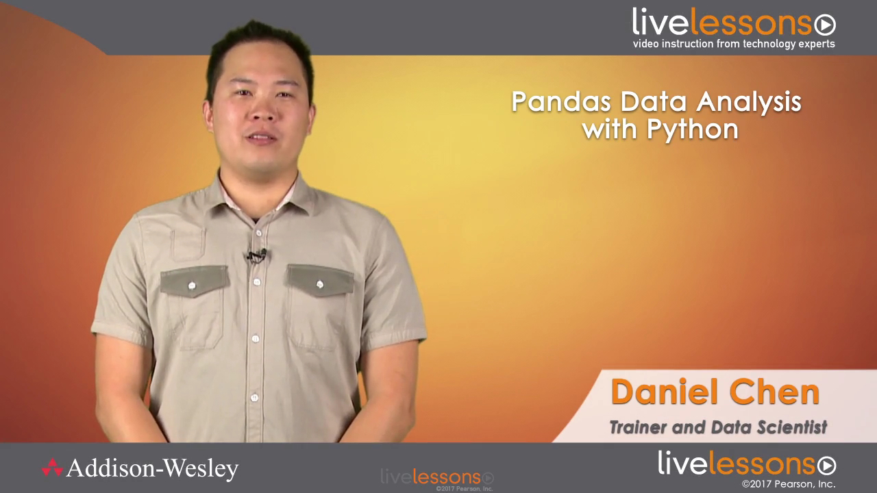 Pandas Data Analysis with Python Fundamentals LiveLessons