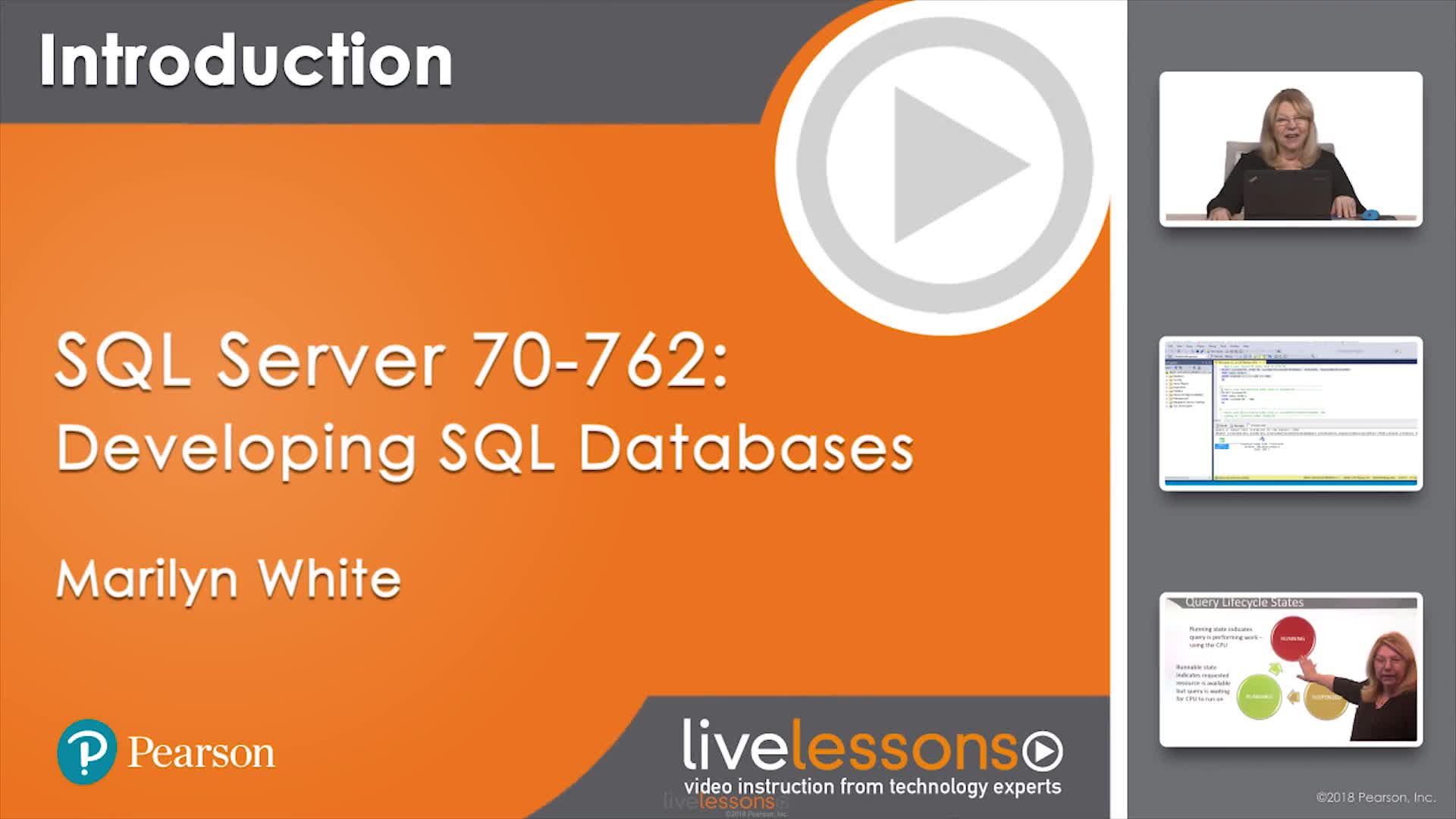 SQL Server 70-762: Developing SQL Databases LiveLessons
