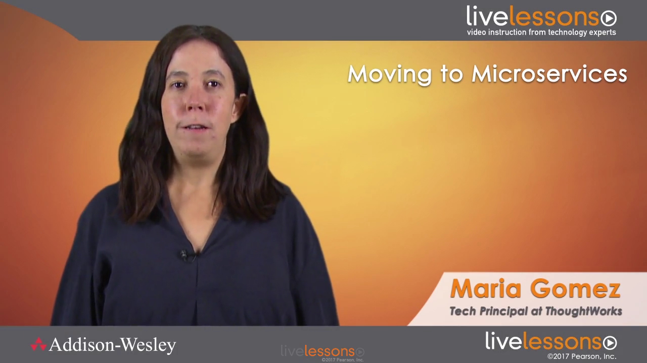 Moving to Microservices LiveLessons: Using Domain-Driven Design to Break Down the Monolith (Video Training)
