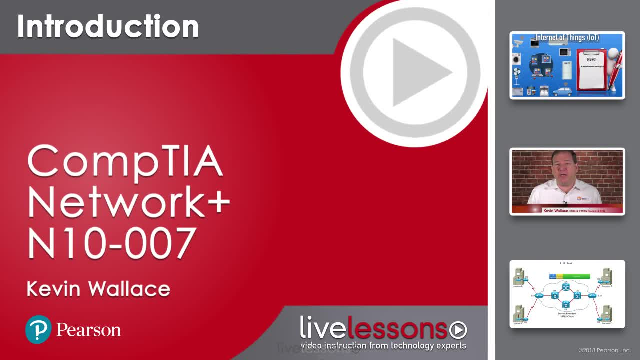 CompTIA Network+ N10-007 Complete Video Course and Practice Test