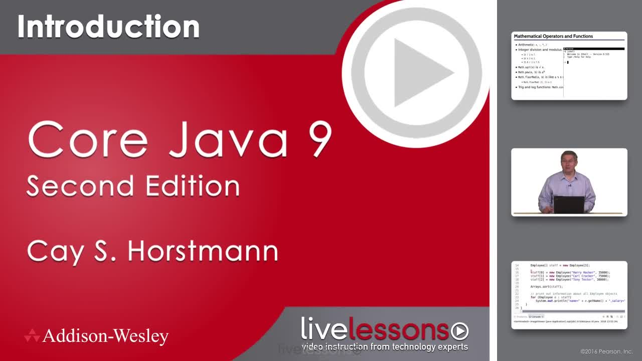 Core Java 11 Fundamentals Complete Video Course, 2nd Edition