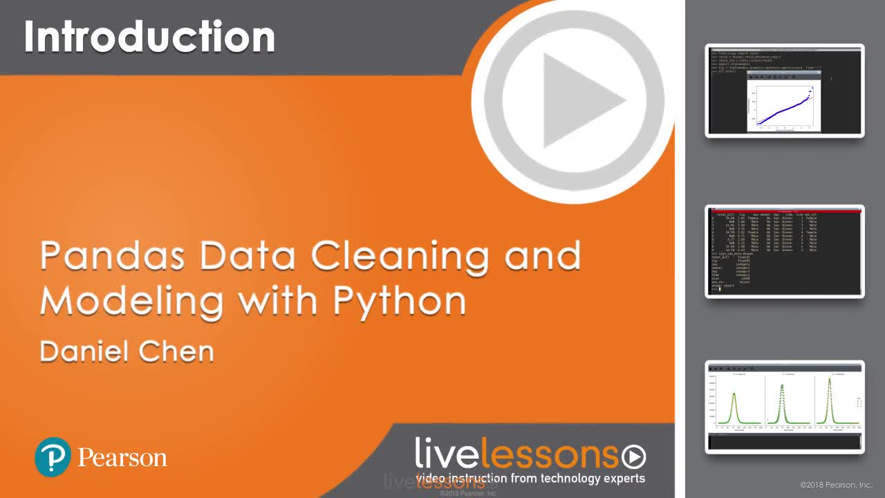 Pandas Data Cleaning and Modeling with Python LiveLessons