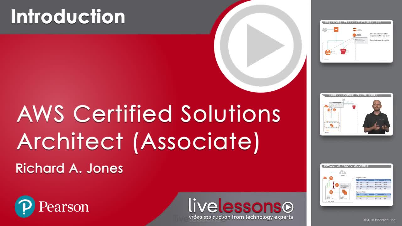 AWS Certified Solutions Architect (Associate) Complete Video Course and Practice Test