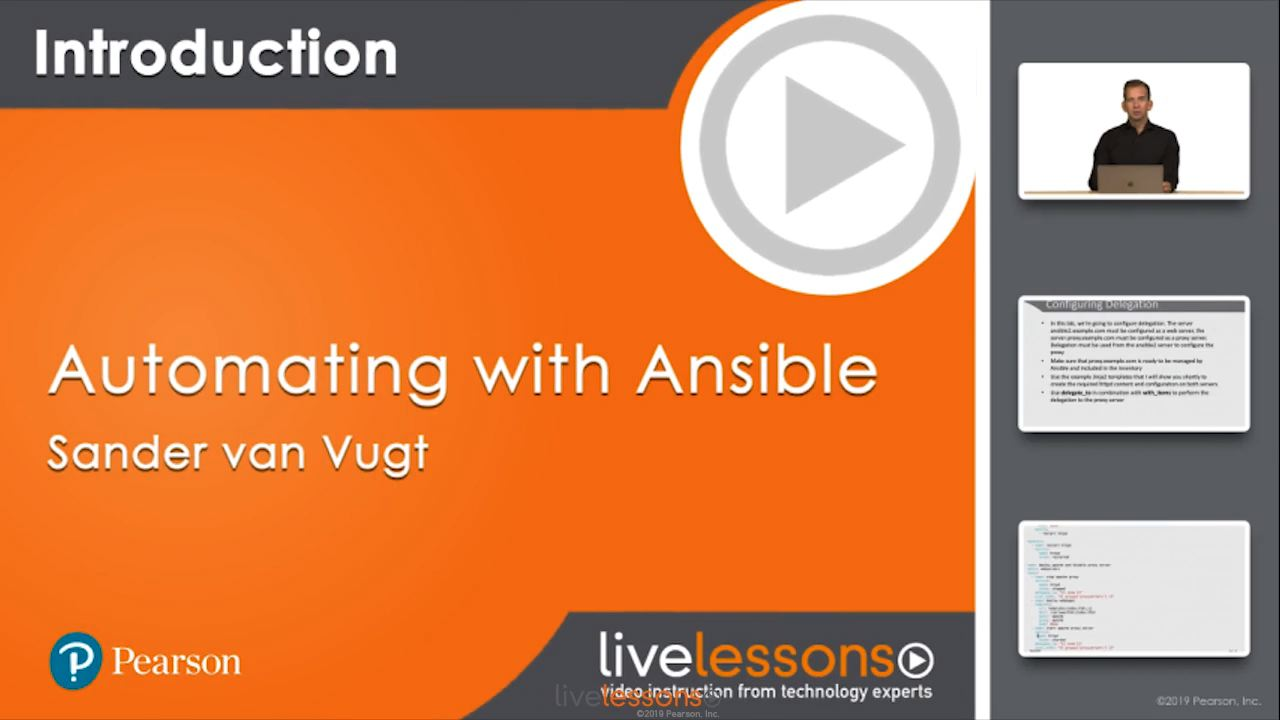 Automating with Ansible LiveLessons