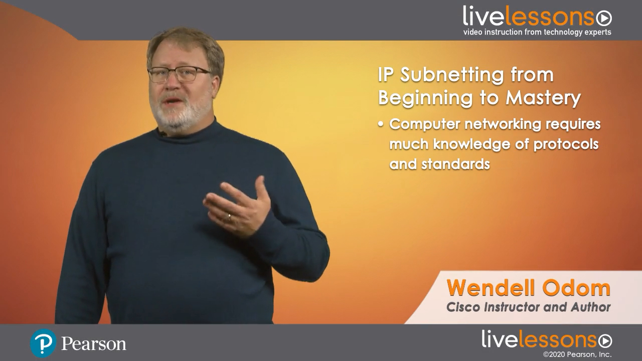 IP Subnetting from Beginning to Mastery LiveLessons (Video Training)